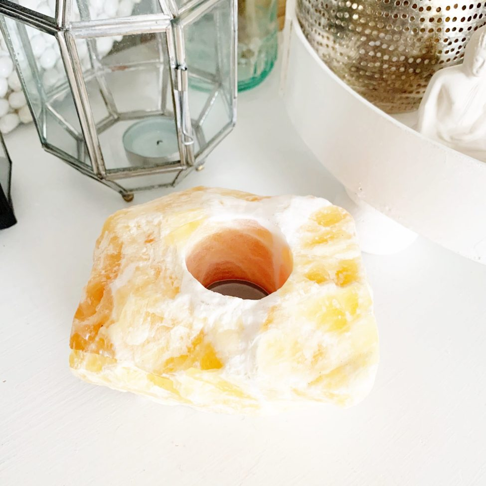 Waxine Oranje Calciet Edelsteen By Sas