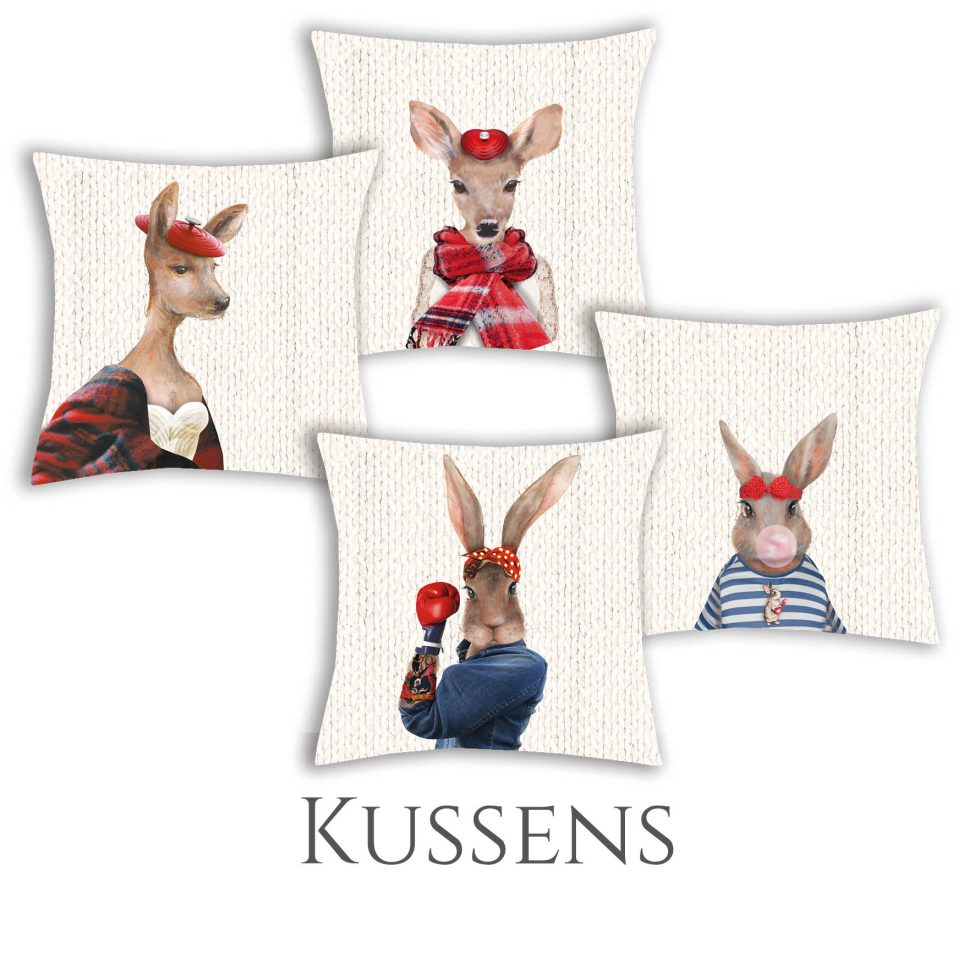 Webshop Kussens
