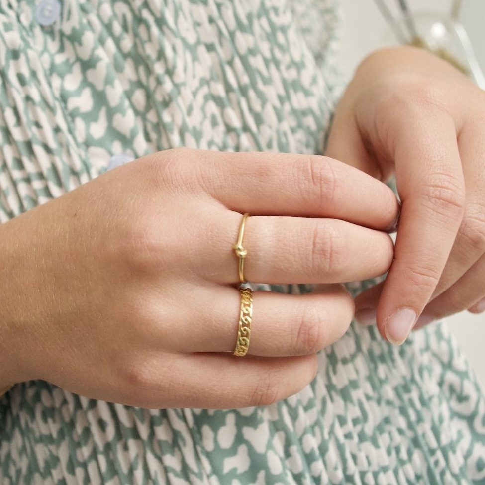 2. Tied Up Ring G 3