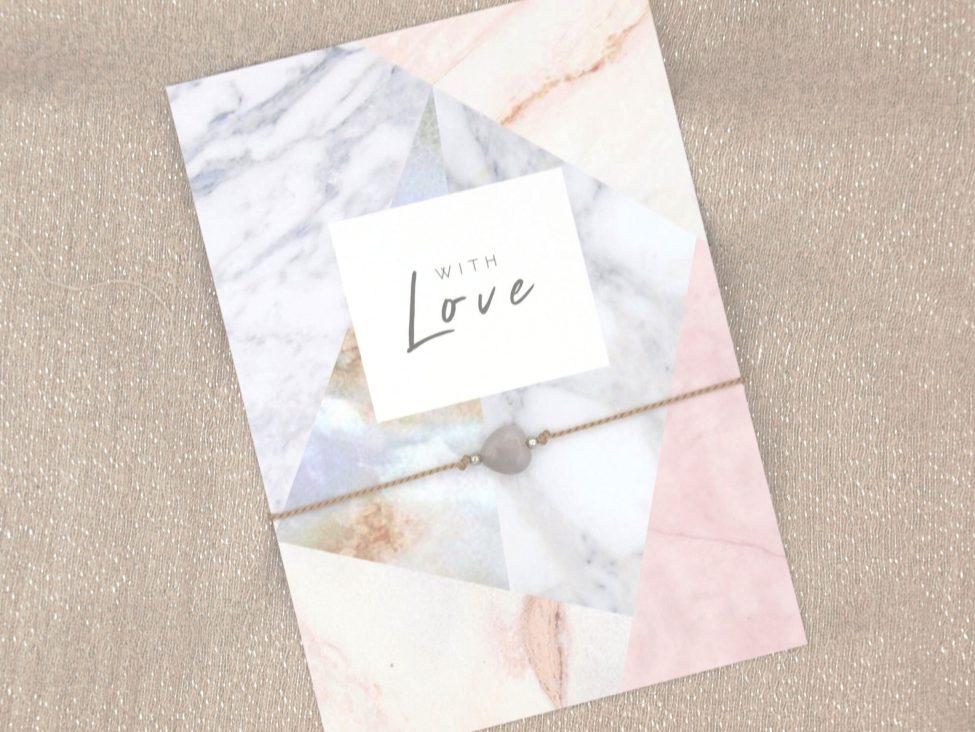 Armband Love,agaat,beige,zilver,valentijn,moederdag,indah (2)