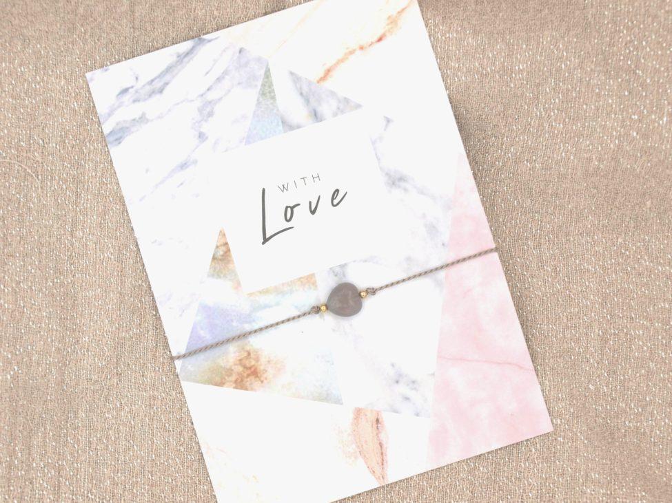 Armband Love,agaat,grijs,goud,valentijn,moederdag,indah (2)