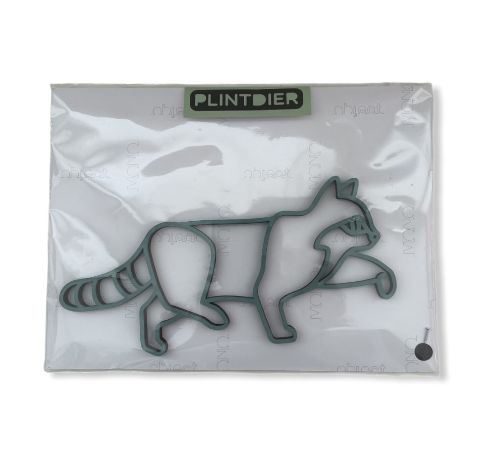 Plintdier Kat blauwgrijs