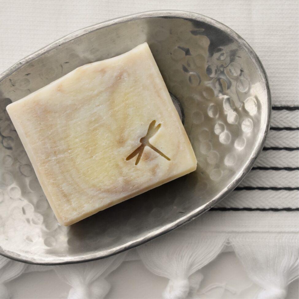 ylang ylang zeep met zeepschaaltje india