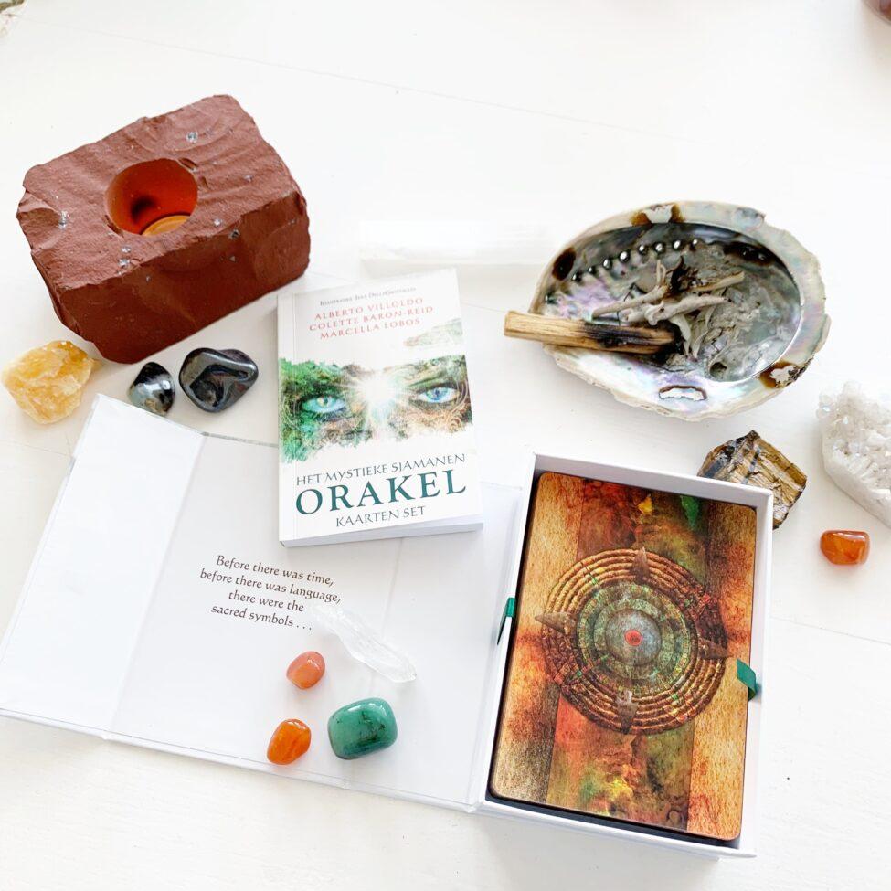 orakel kaarten set mystieke sjamanen by sas wicca voorspelling kaarten 1.5
