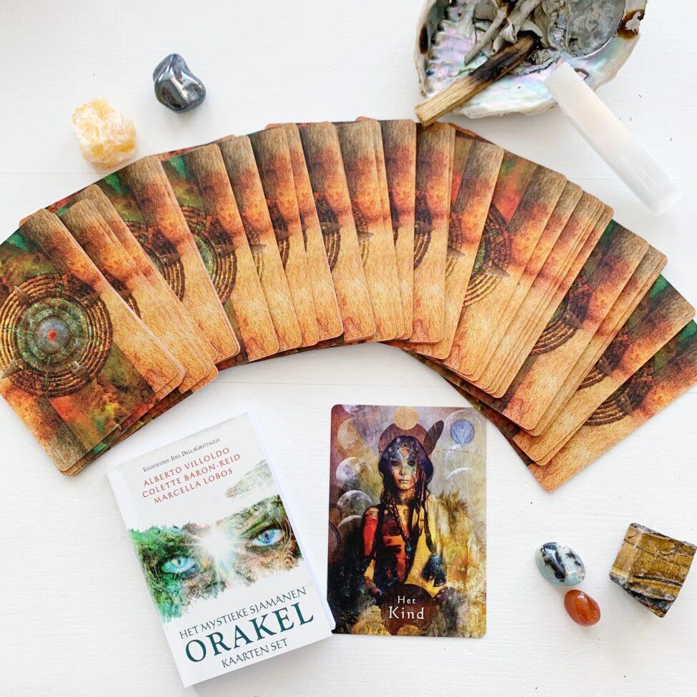prachtig sjamanen orakel kaarten set sterke vibes by sas 1.7