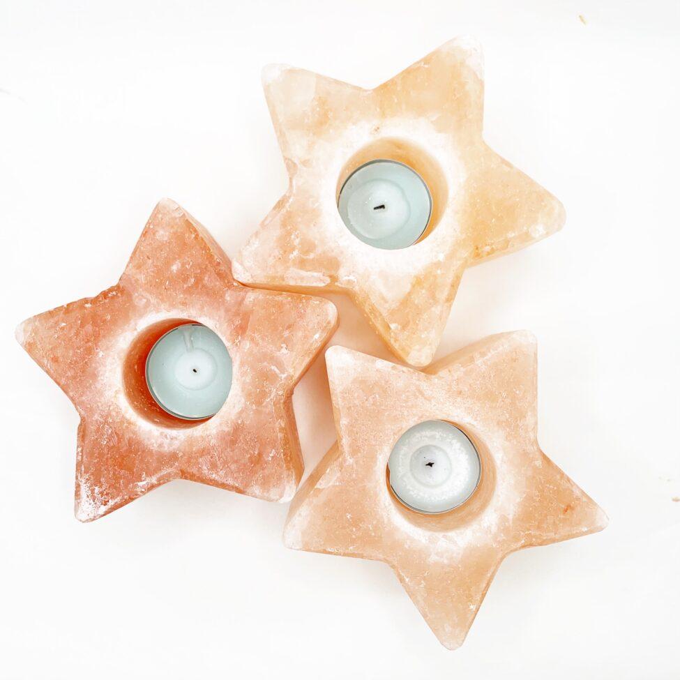 sterren zoutlichtwaxine theelicht ster himalayazout by sas 1.2