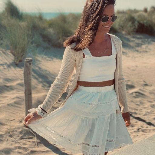 wit kanten rokje mocha fashion (2)