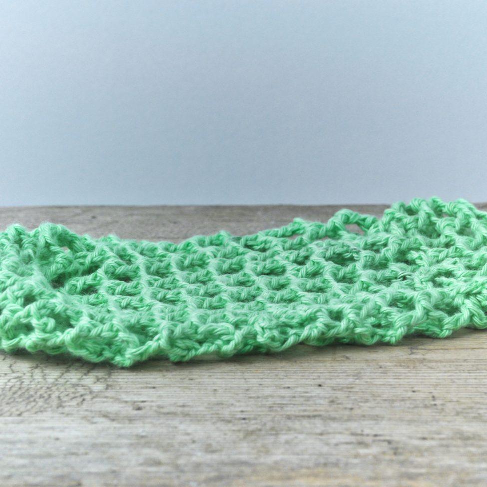 zeepnetje groen