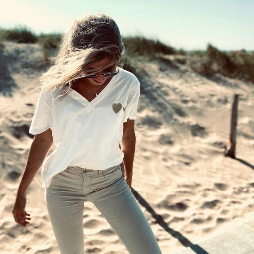 wit shirt met gouden hart mocha fashion (3)