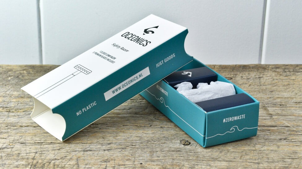 safety razor verpakking