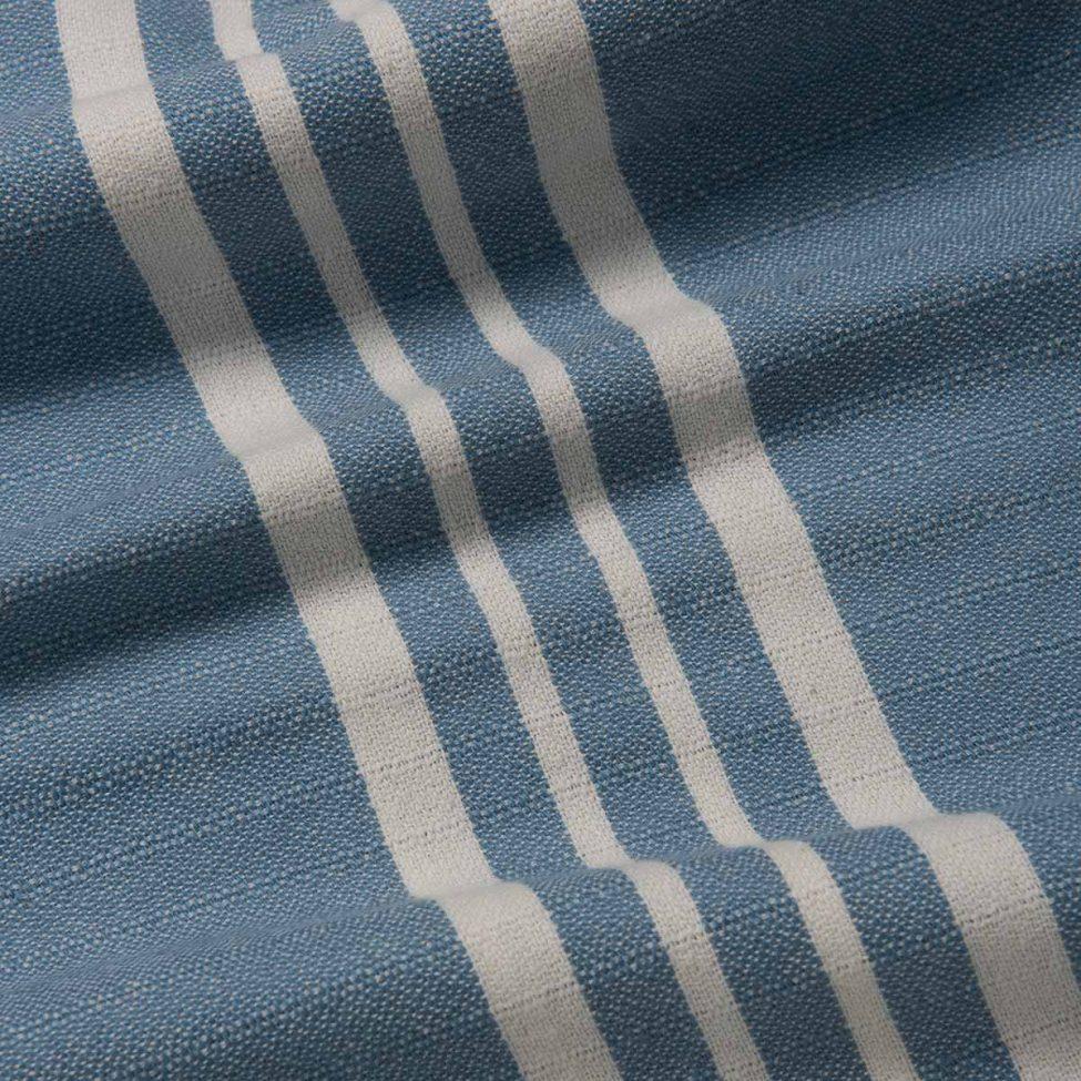 yazgibi hamamdoek yaz duifblauw detailfoto