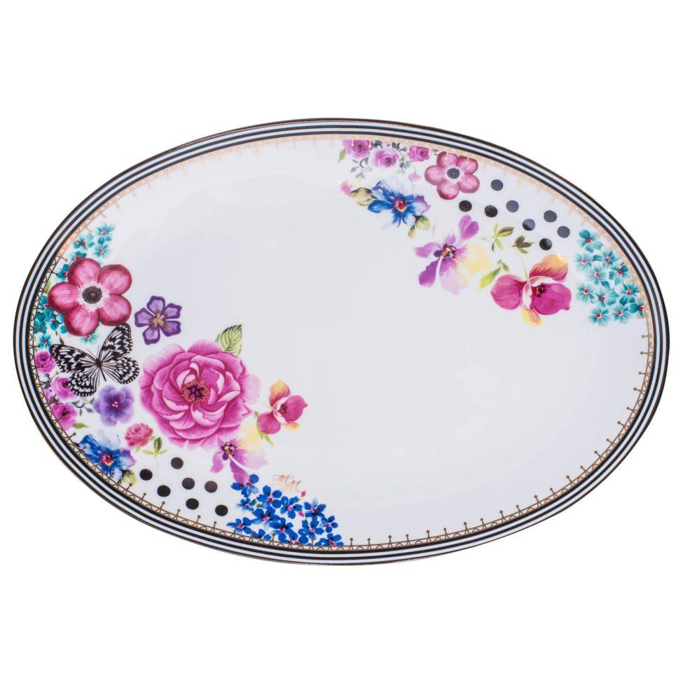 melli mello serving plate nora dots