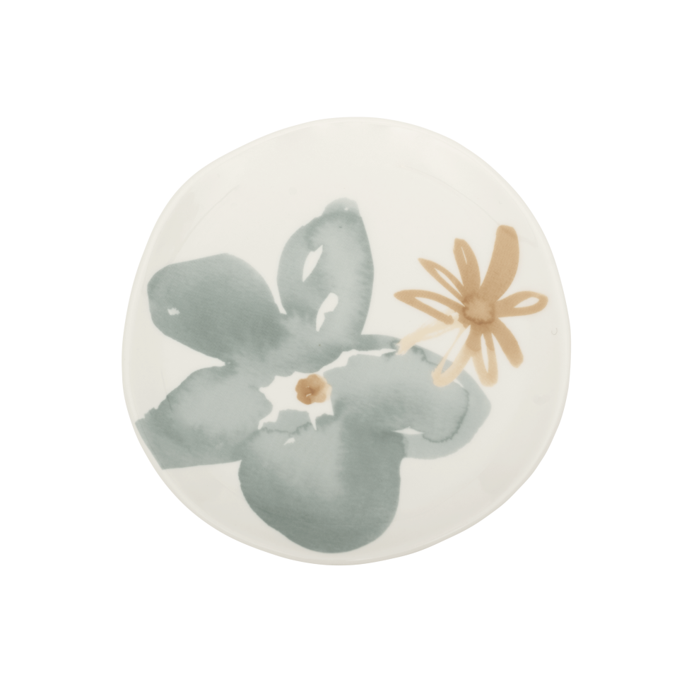 plate floral